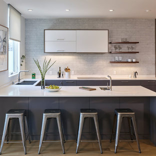 75 Most Popular Small Modern Kitchen Design Ideas For 2018   Stylish Small  Modern Kitchen Remodeling Pictures | Houzz
