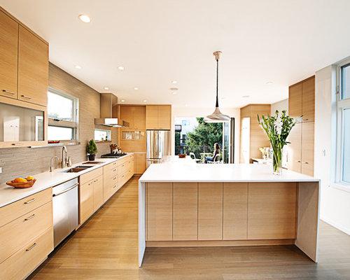 6,180 Modern Oak Kitchen Design Ideas & Remodel Pictures ...