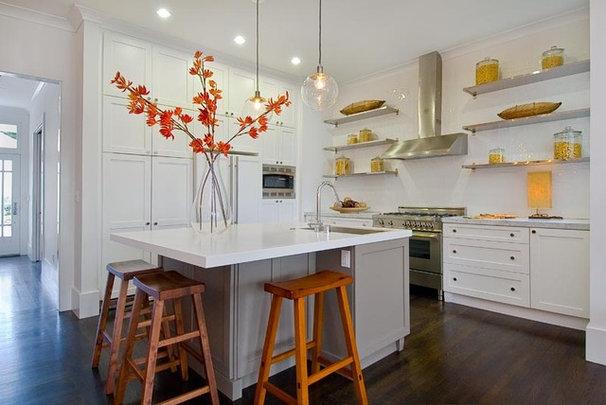 Contemporary Kitchen by Amoroso Design