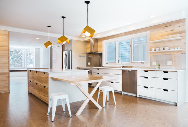 Contemporary Kitchen by Clear