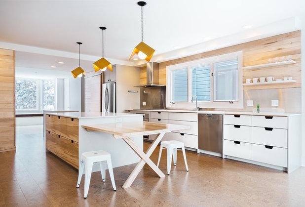 Современный Кухня by Clear