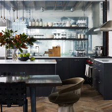 Industrial Kitchen by Danconia Interiors