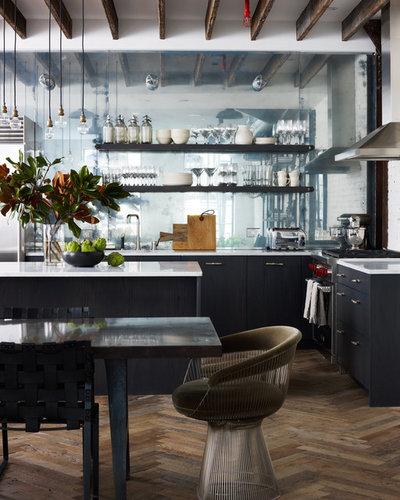 Industriel Cuisine by Danconia Interiors