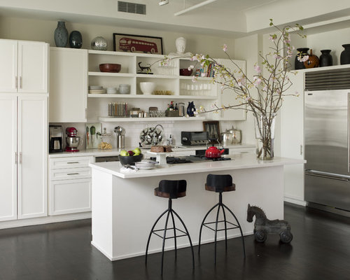 kitchen open shelving design ideas remodel pictures houzz