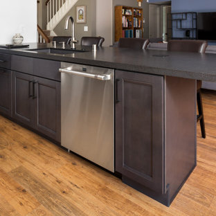 Noir black & gray Kitchen in Thousand Oaks