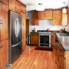 Contemporary Kitchen by Hanson Building and Remodeling