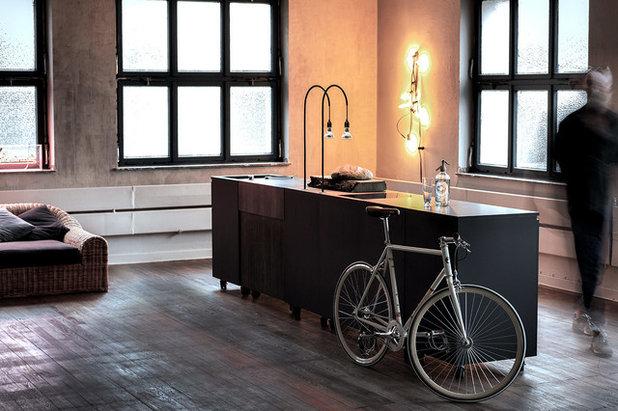 idea to steal eine mobile k cheninsel auf rollen. Black Bedroom Furniture Sets. Home Design Ideas
