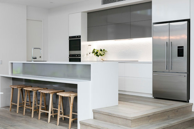 Beach Style Kitchen by Aboda Design Group