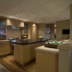 contemporary kitchen by Nora Schneider Interior Design