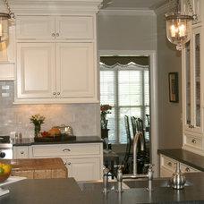 Traditional Kitchen by Regas Interiors, LLC