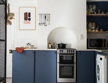 Nordic Blue Kitchen Refresh