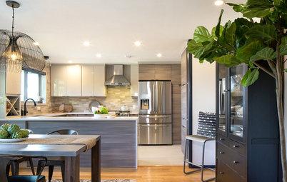 Kitchen of the Week: A Fresh Take on Midcentury Modern
