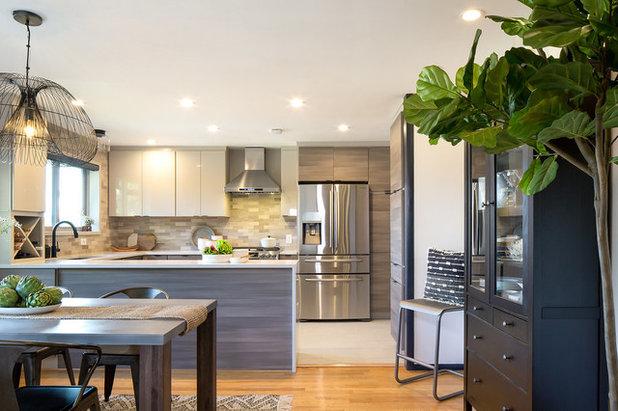 Kitchen Of The Week A Fresh Take On Midcentury Modern