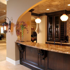Mediterranean Kitchen by Palmieri Builders