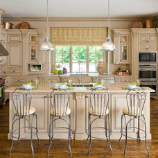 Traditional Kitchen by TATUM BROWN CUSTOM HOMES