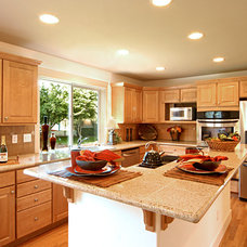 Traditional Kitchen by Powell Custom Homes & Renovations