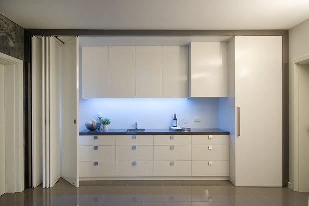 Küche verstecken: 6 Küchen, die verschwinden