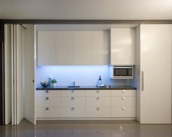 hidden kitchen | houzz