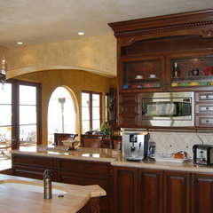 mediterranean kitchen by Ultimate Designs
