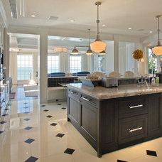 Traditional Kitchen by Charlotte Dunagan Design Group