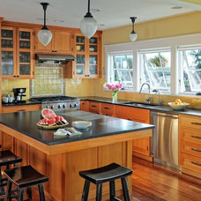 traditional kitchen by Patricia Brennan Architects