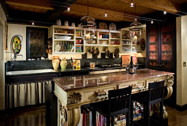 Eclectic Kitchen by Roberts Wygal