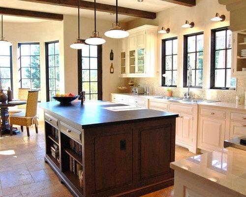 taille moyenne cuisine ide de dcoration pour une cuisine ouverte design en u de taille moyenne. Black Bedroom Furniture Sets. Home Design Ideas