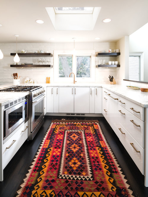 kitchen runner rug | houzz