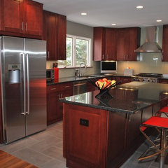 contemporary kitchen by Reliable Installations & Renovations llc