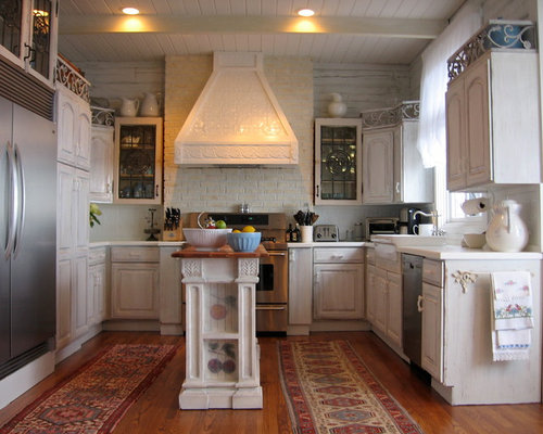 Narrow Kitchen Island Home Design Ideas Pictures Remodel