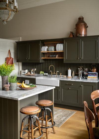 Transitional Kitchen by ZAC and ZAC - Photography