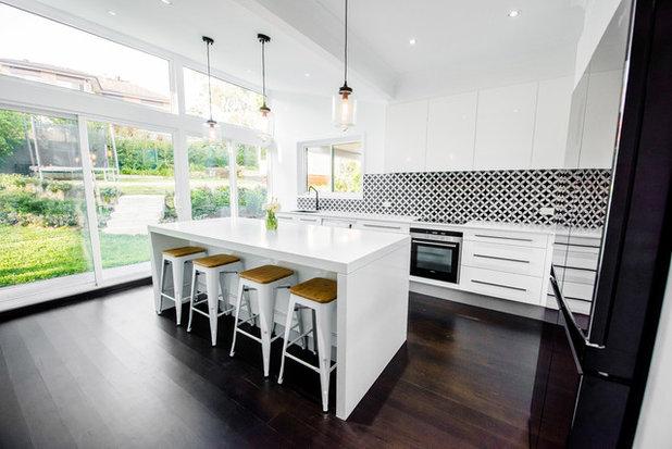 Contemporáneo Cocina by Nouvelle Kitchens & Bathrooms