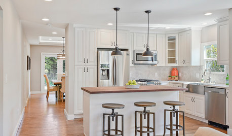 5 Countertops That Look Beautiful in a White Kitchen