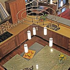 Contemporary Kitchen by Lea Shulman Interiors
