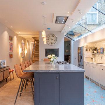 North Kensington - Basement, rear side return and loft conversion project