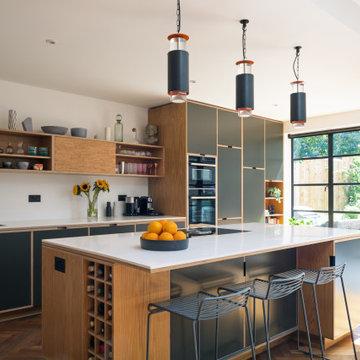 North London Bright And Modern Kitchen