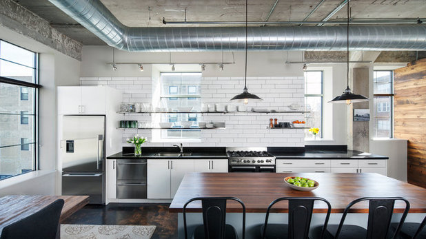 Industrial Kitchen by Albertsson Hansen Architecture, Ltd