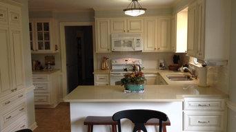 North Raleigh kitchen refacing