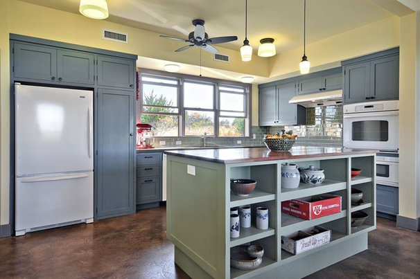 Rustic Kitchen by Tim Brown Architecture