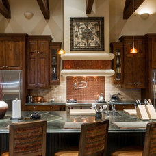 Traditional Kitchen by Fisher Custom Homes