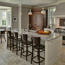Traditional Kitchen by Buckingham Interiors + Design LLC