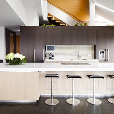 contemporary kitchen by Natural Balance Home Builders