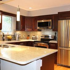Traditional Kitchen by Cornerstone Kitchens & Design Ltd