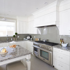 Transitional Kitchen by Fina Designs