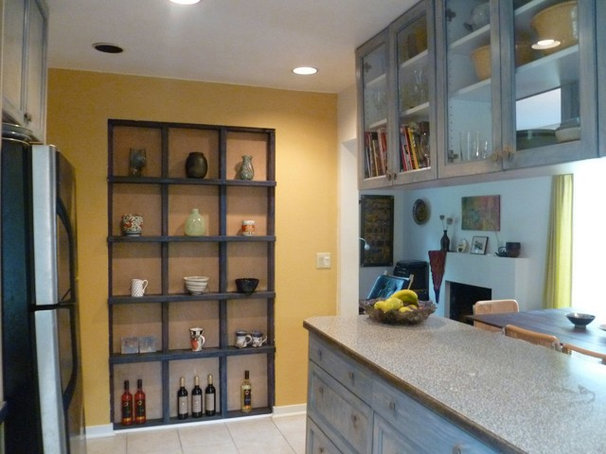 Eclectic Kitchen by In Residence Design Group Inc.