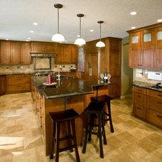 Craftsman Kitchen by Dwayne Seal Custom Designs