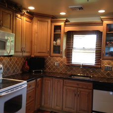 Traditional Kitchen by Lowe's of Easton, PA
