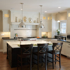 Traditional Kitchen by Kitchen Design Partners Inc.