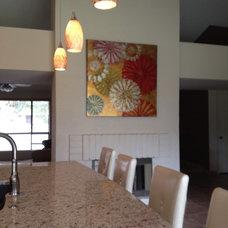 Contemporary Kitchen by Sea Interior Design
