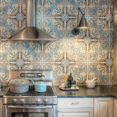 eclectic kitchen by Kenny Grono